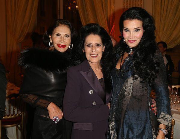 Mouna Ayoub Debra Mace et Lamia Khashoggi