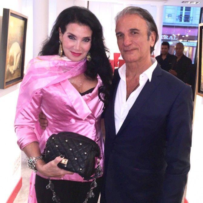Exposición del pintor italiano Alberto Bertti en Paris