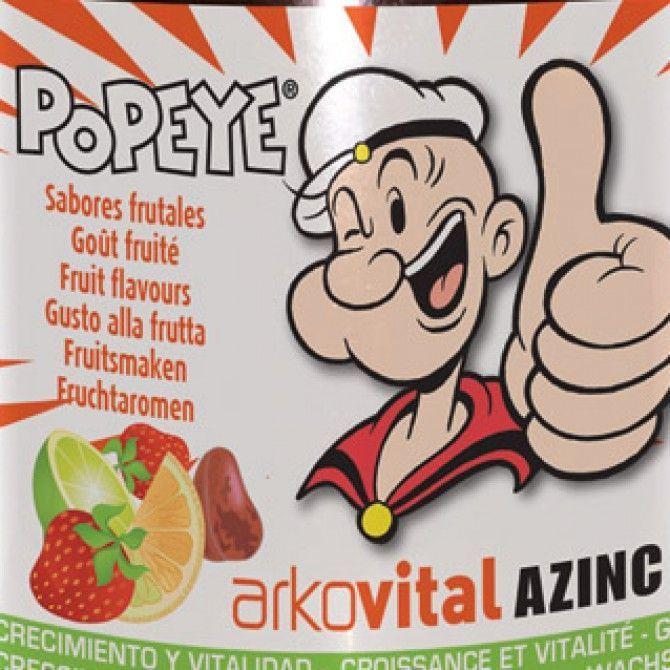 Popeye vitaminas de Arkovital