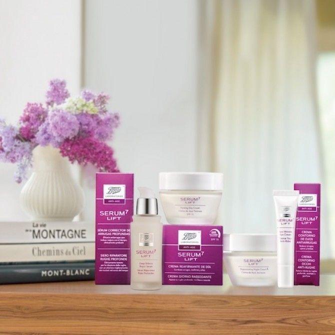 La nueva gama Serum 7 Lift reduce arrugas, reafirma y unifica el tono de la piel