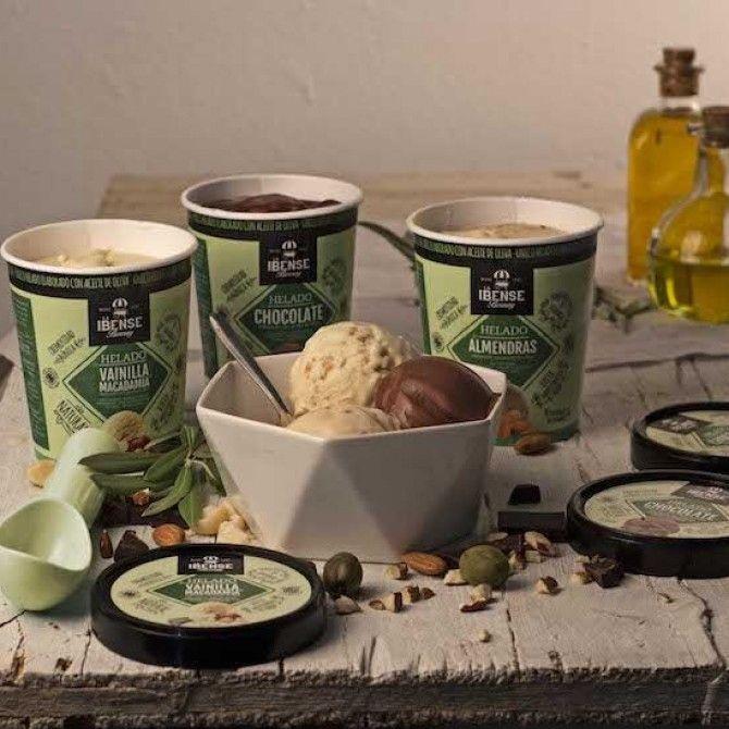La Ibense Bornay presenta los nuevos helados con aceite de oliva