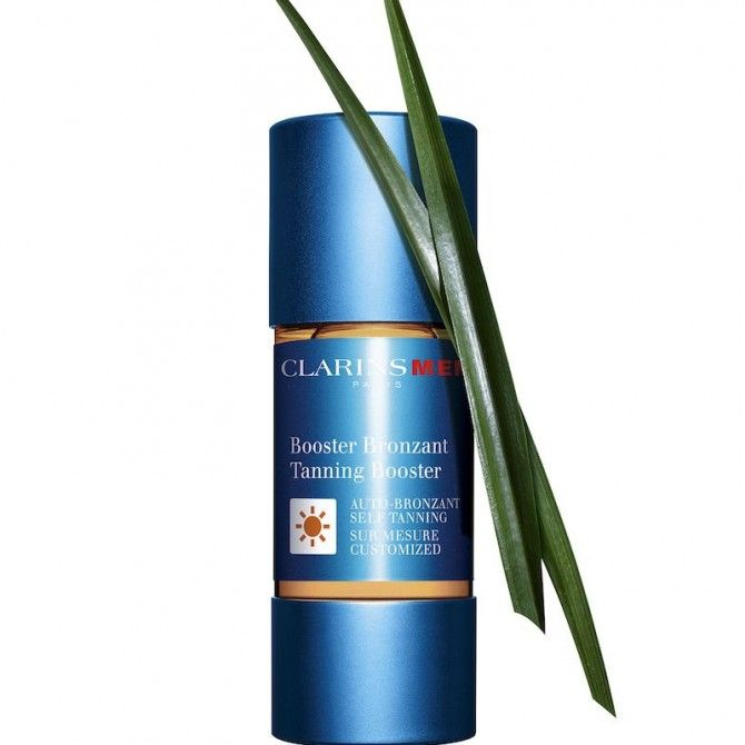 Booster Bronzant de Clarins Men: Energía y buen color