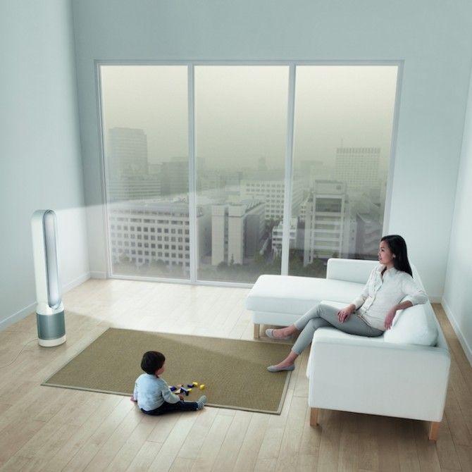 Ambiente purificado y limpio con Dyson y a temperatura ideal
