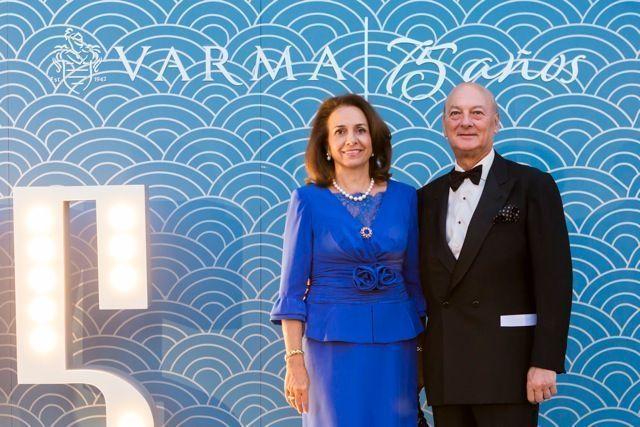 Brillante fiesta para celebrar el 75 Aniversario del Grupo Varma