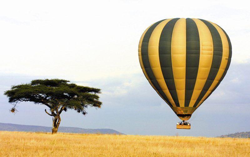 Ballooning at Seronera 1