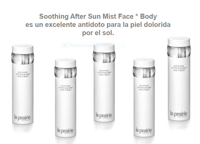 La prairie Soothing After Sun Mist Face and Body