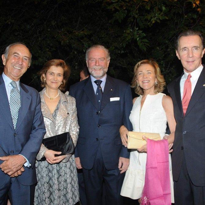 Orden de Malta - Baile benéfico en el Hipódromo de la Zarzuela de Madrid