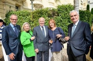 Patrick Scheffer, le Prince et la Princesse Aimery de Polignac, la Princesse Caroline Murat et Fouad Hakim