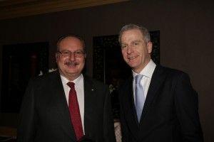 Sa Majeste le Roi Fouad II d'Egypte et Jean-Yves Blatt