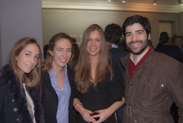 Jimena Von Noblock de Apodemia,Maite Aresti,Mariana Vilallonga,Jaime Landeta