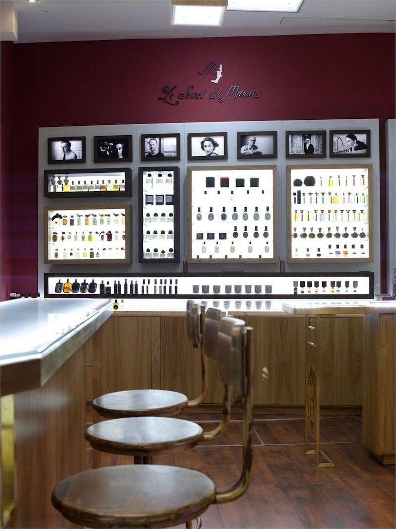 NOSE crea un Bar à Parfums en Le secret du Marais.