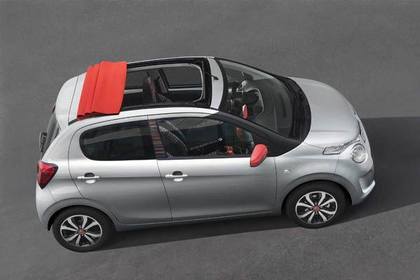 Nuevo Citroën C1: Divertido, descapotable y 100% conectado