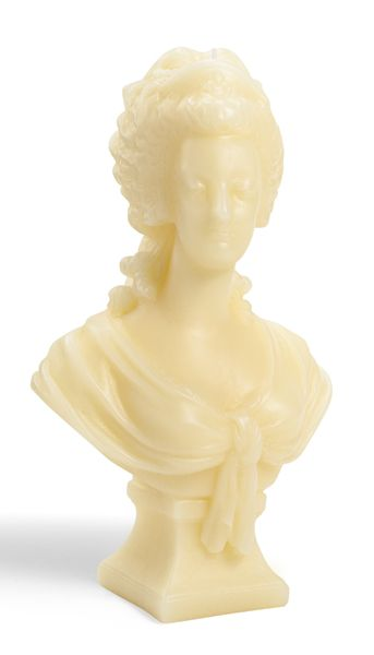 Cire Trudon Marie-Antoinette Bust - Ivory - 2014 - hi res