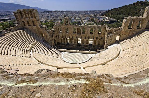 Herodus Atticus Teatro a Atenas
