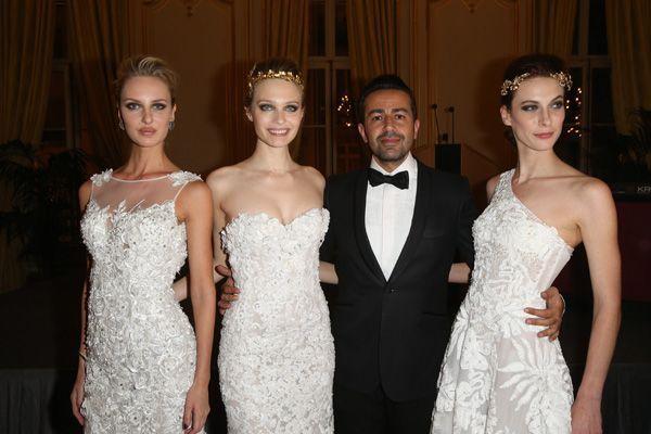 Georges Mak et ses mannequins