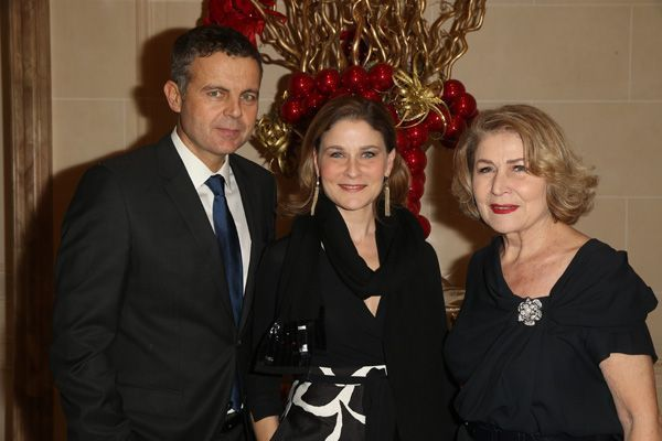 Hala Gorani et son mari et Nour Gorani Haggag