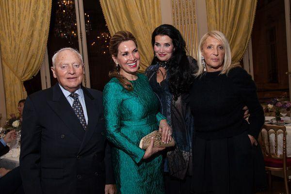 Sonia Falcone Lamia Khashoggi et Claudie Stolz