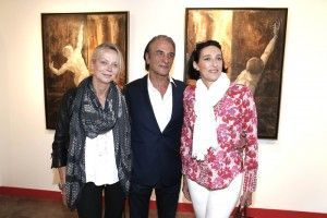 SAR Princesa Elena de Yuguslavia, Alberto Bertti, SAR Princesa Tania de Bourbon Parme