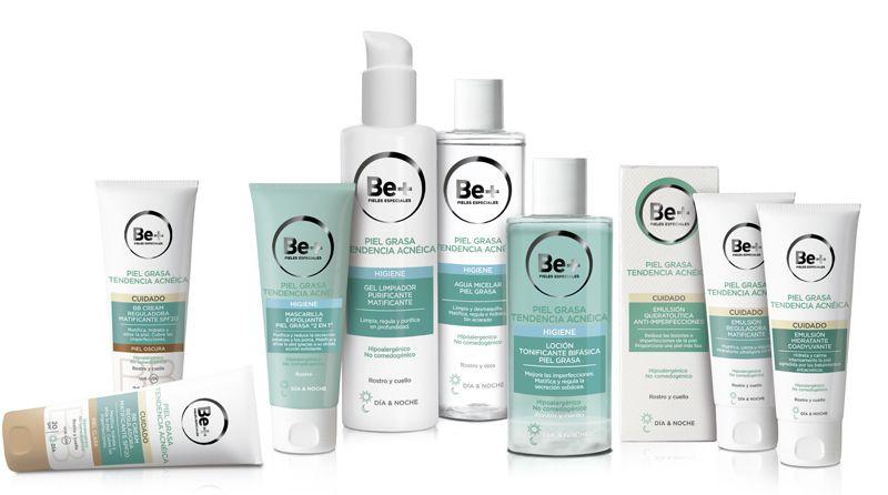 Nueva gama Be+  para piel grasa con  tendencia acneica