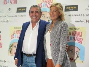 Marta Barroso con Jaime Mtnez Bordiú