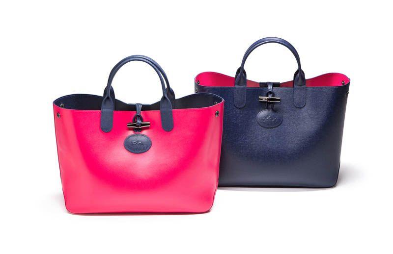 El bolso Roseau reversible de Longchamp ¡Dos en Uno!
