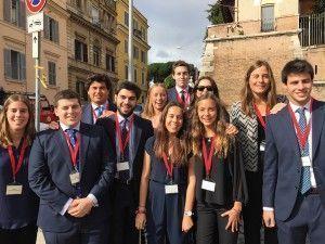Viaje a Roma de la familia Merry del Val.5