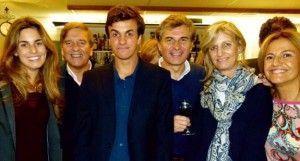 Jaime Marín Jorquera con sus amigos