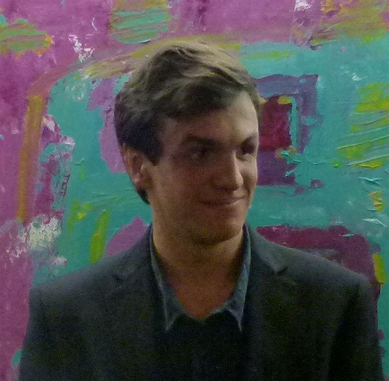 La primera exposición de pintura de Jaime Marín Jorquera
