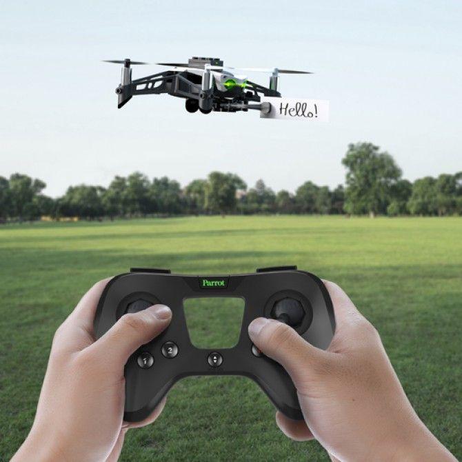 Agilidad, velocidad y estabilidad en los nuevos Minidrones de Parrot