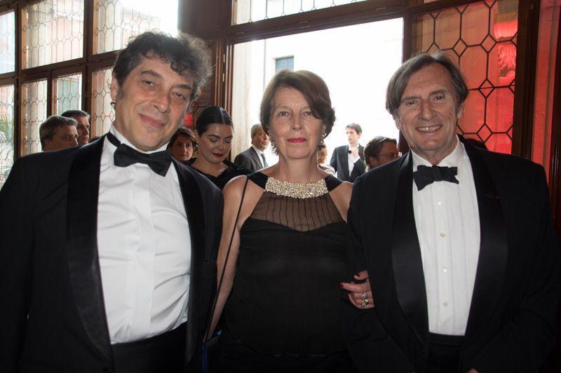 Venezia_Marco_Polo_Sandro Veronesi, Noelle Rondeau y Daniel Rondeau