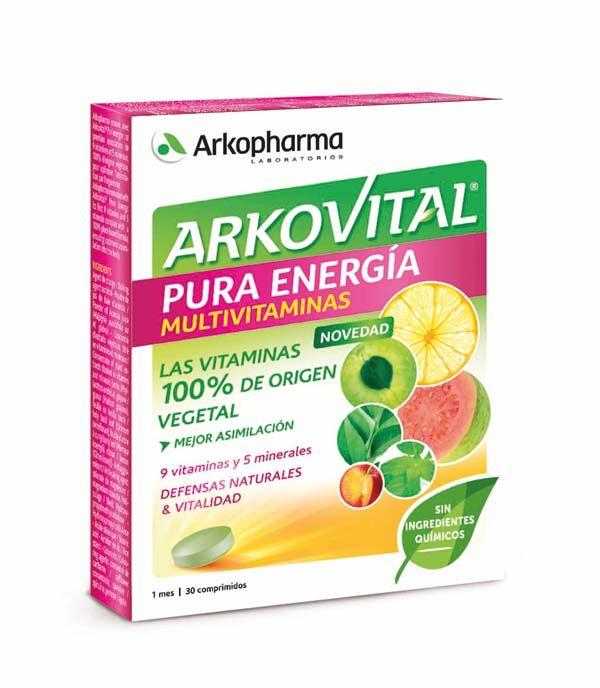 Las vitaminas procedentes de frutas y plantas: Akrovital Pura Energía