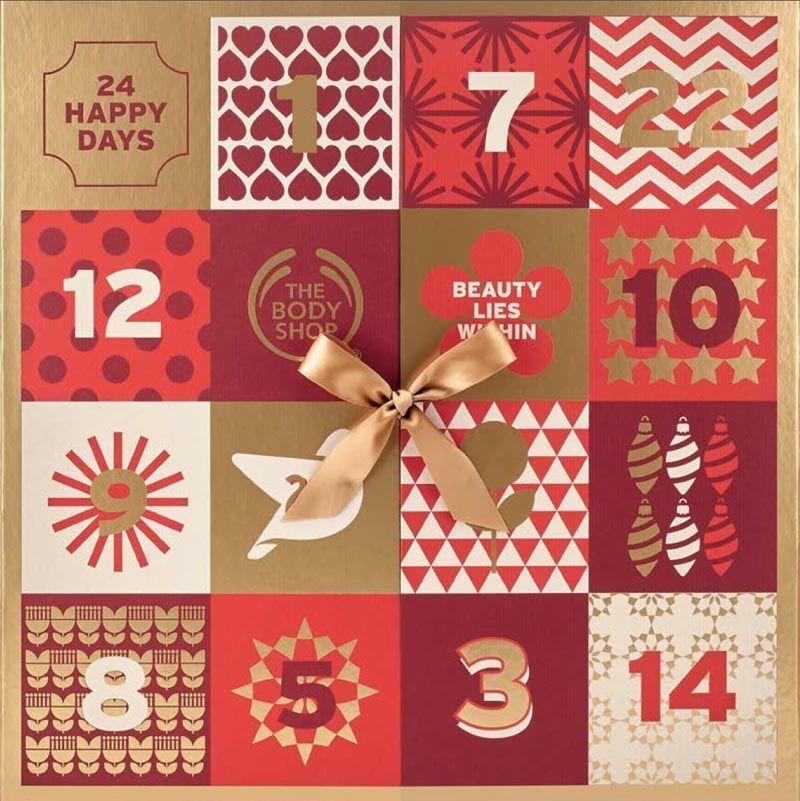 Calendarios de Adviento cargados de sorpresas en The Body Shop