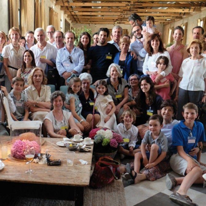 Reunión de la familia Espinosa de los Monteros en Madrid