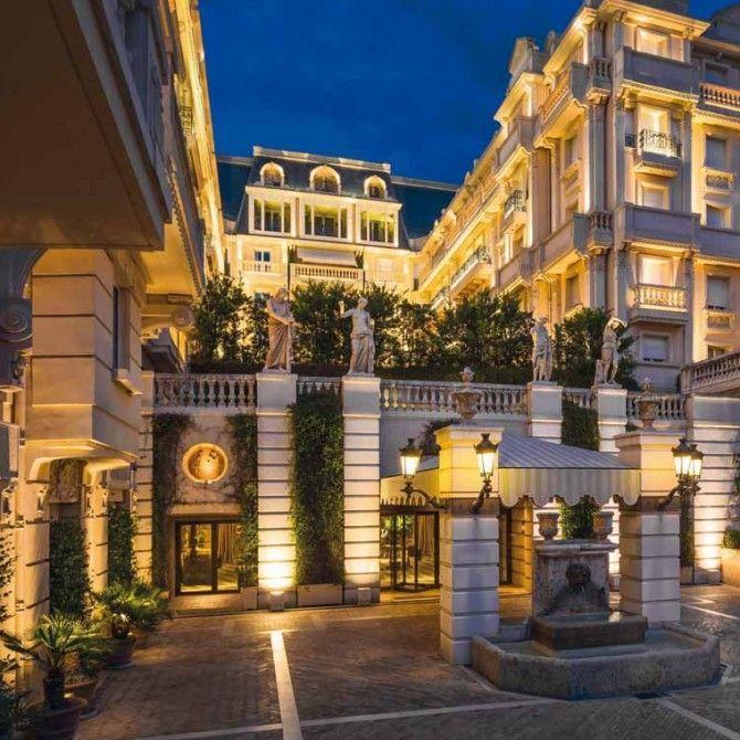 Spa Givenchy en el Hotel Metropole de Montecarlo