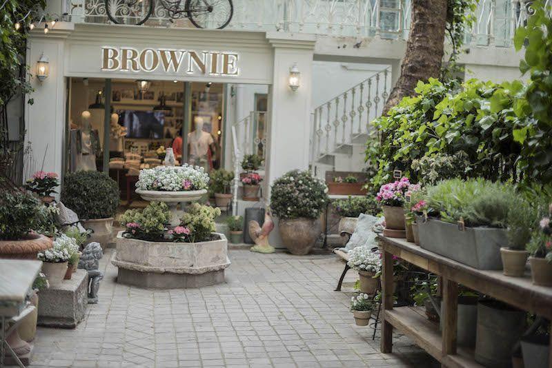 Décimo aniversario de Brownie y apertura de su flagship