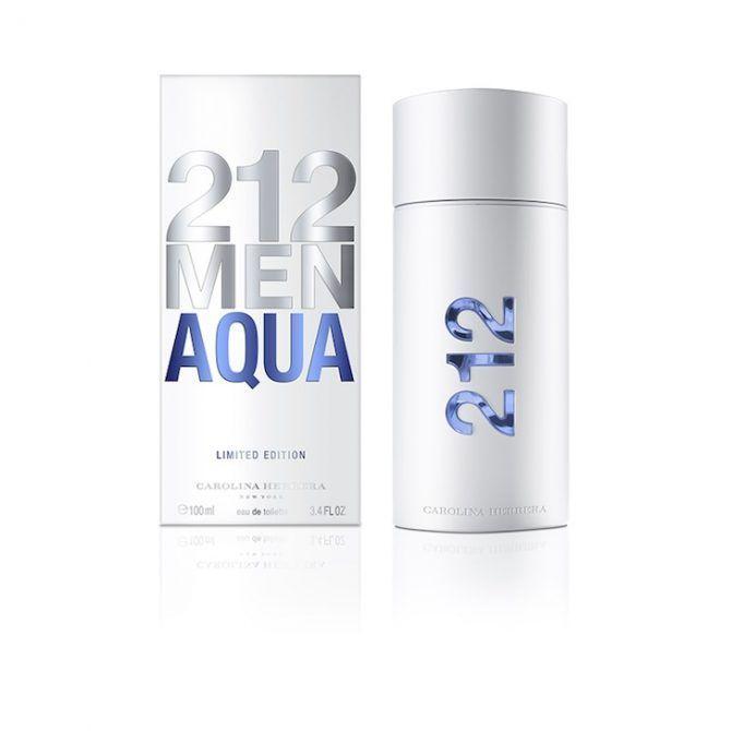 212 Men Acqua, una versión más fresca y moderna