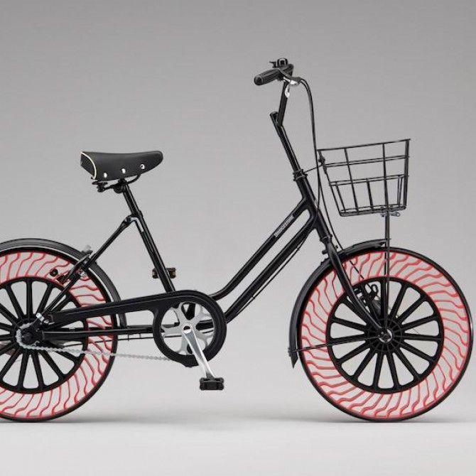 Neumáticos sin aire, una revolución de Bridgestone