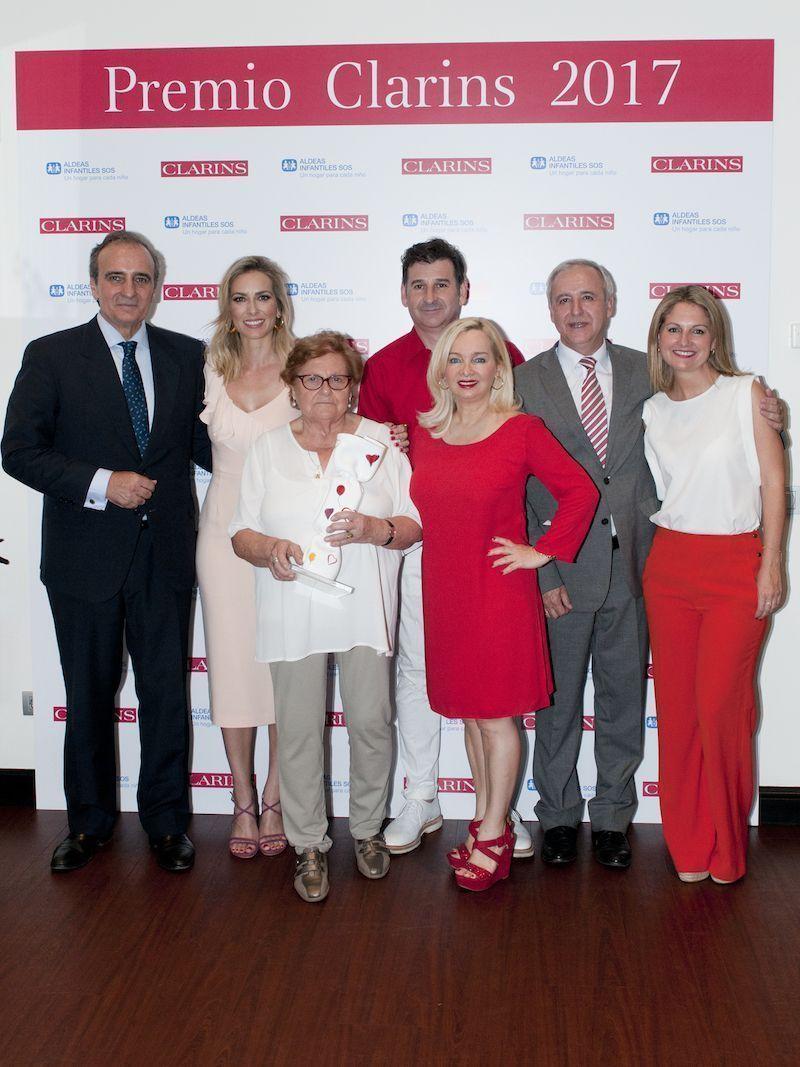 Premio Clarins 2017 & Donativo Aldeas Infantiles SOS