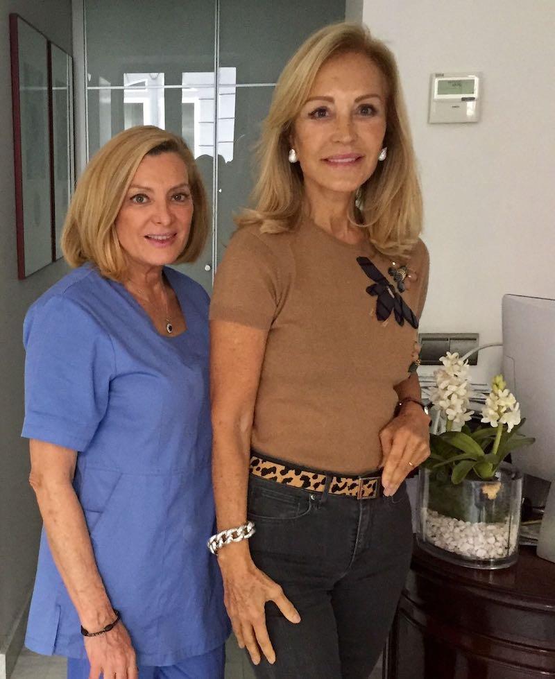 Las famosas en manos de la Dra. Ana Vila Joya