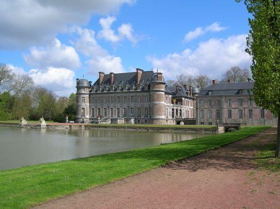 Concurso floral en el Castillo Boleil en Bélgica