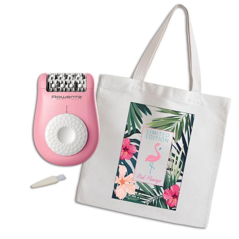 A juego en rosa para este verano, Rowenta Pink Flamingo