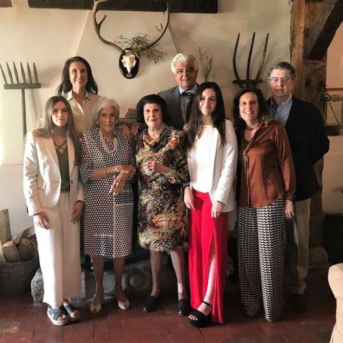 90 cumpleaños de Isabel Perera Parages