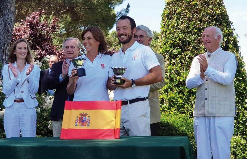 Torneo de croquet inaugural en el R.C. Puerta de Hierro