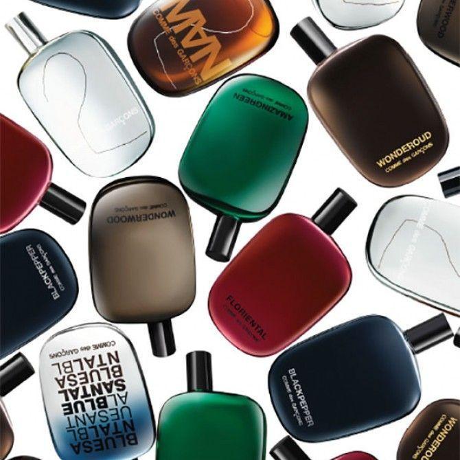 El enfoque diferente de los perfumes Comme des Garçons
