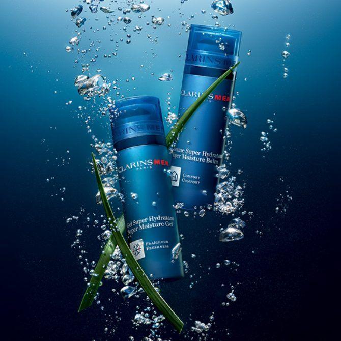 Hidratación intensa incluso en condiciones extremas: Clarins Men