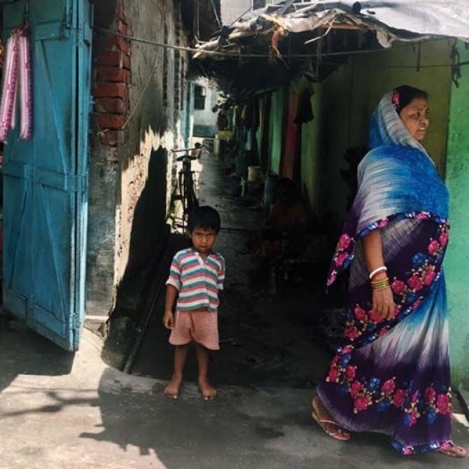 La ciudad de la alegría, voluntaria en Calcuta
