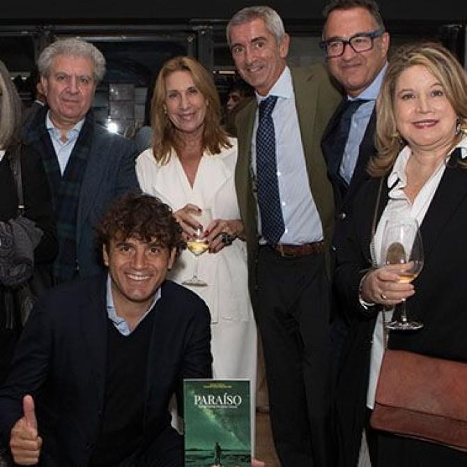 Paraíso de Santiago Quiroga, novela distópica presentada en Madrid