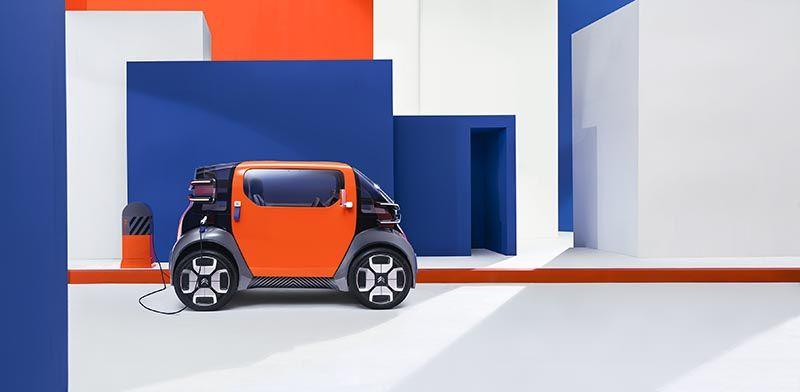 Ami One Concept de Citroën, movilidad urbana 100% eléctrica