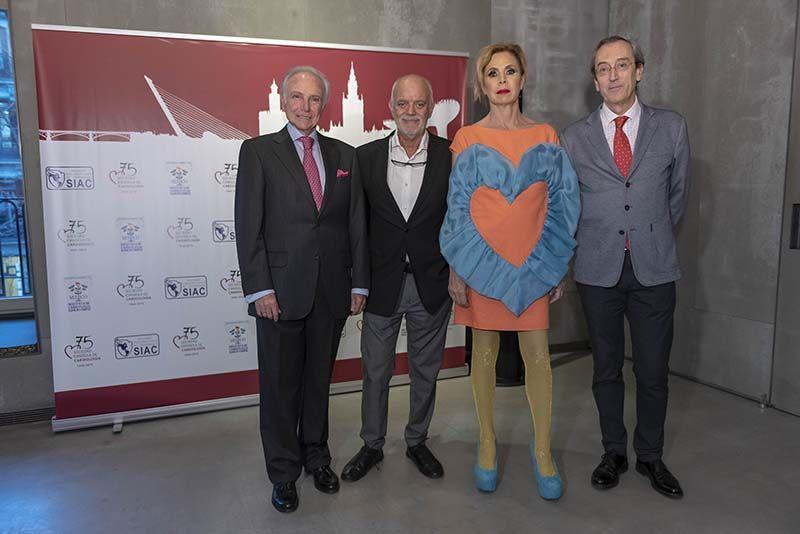 Agatha Ruiz de la Prada con la Sociedad Española de Cardiología