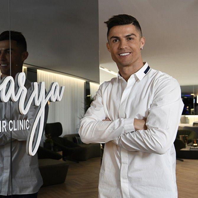 Cristiano Ronaldo inaugura la clínica Insparya en Madrid